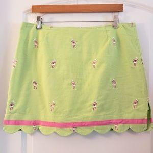 Lilly Pulitzer Lime Green Tennis/Golf Skort